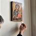 Εικόνα της Παναγίας δακρύζει στο σπίτι ενός Τούρκου (photos)