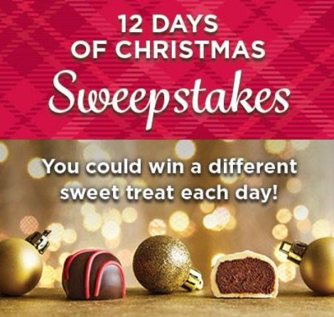 FANNIE MAY 12 DAYS OF CHRISTMAS SWEEPSTAKES