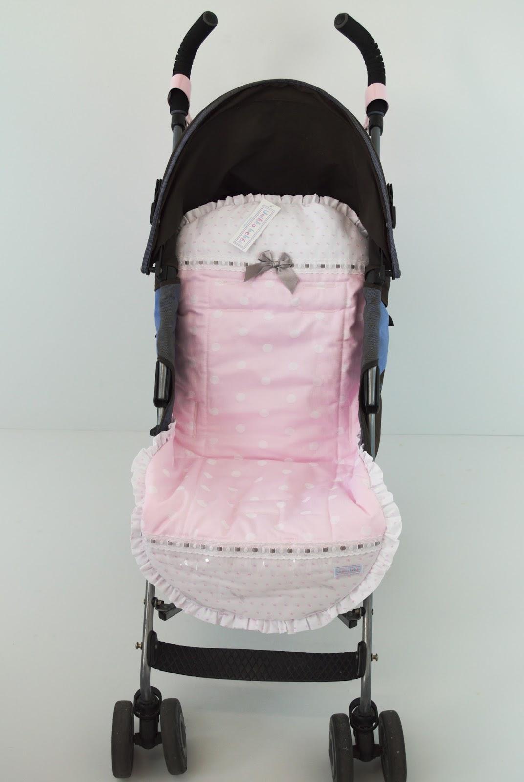 Funda de verano maclaren quest rosa y gris unikko beb s - Sacos para silla maclaren ...