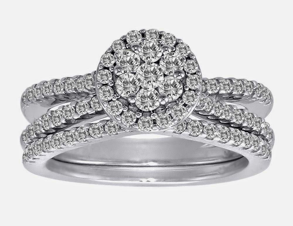 Bridal Set Engagement And Wedding Ring Sets Uk Luxury Diamond