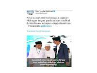 Salah Kutip Pernyataan Jokowi, Admin @setkabgoid Dicopot