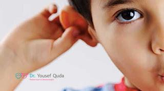 التهاب الأذن الوسطي عند الاطفال