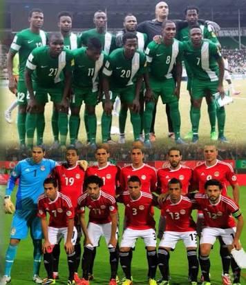 Nigeria vs Egypt friendly