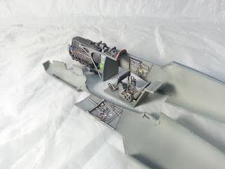Article détaillant le montage du Bf-109 E-1 d'Eduard au 1/48.