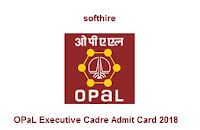OPaL Executive Cadre Admit Card