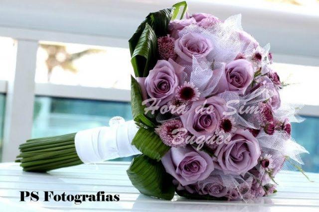 (474)Buquê de Noiva Romântico