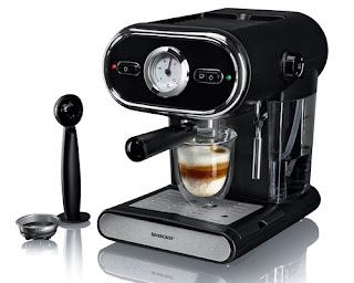 Ekspres ciśnieniowy do kawy Silvercrest z Lidla
