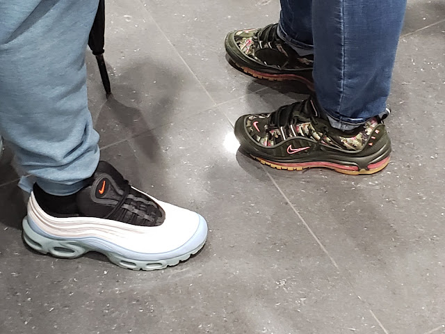 Limited edition sneakers spotted at UP NYC