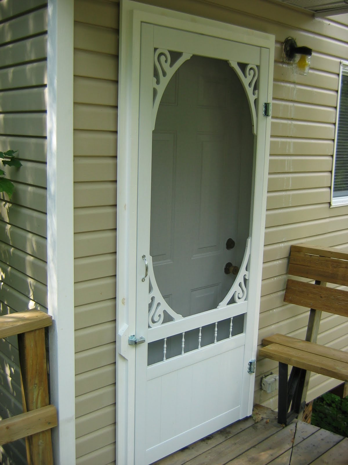 Cottage on the Edge - the DIY Cottage Blog: Screen Doors ...