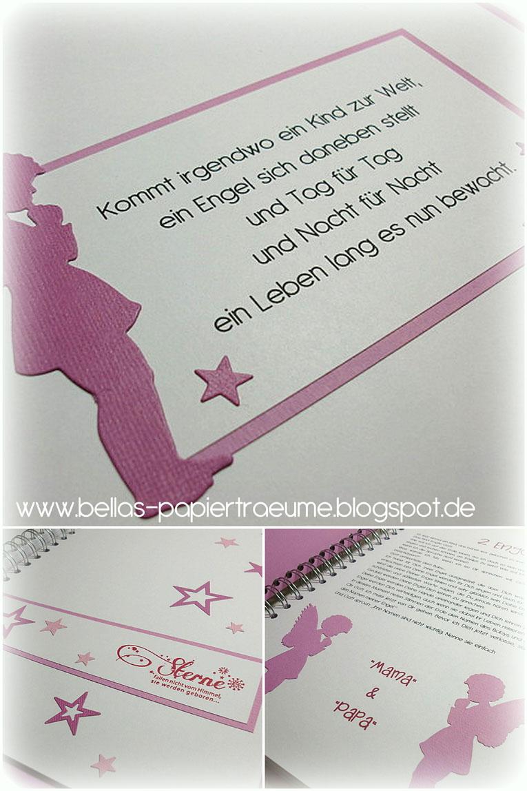 Bellas Papierträume Taufbuch 14