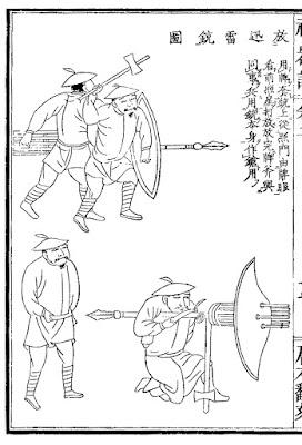 Ming Dynsaty gatling-musket