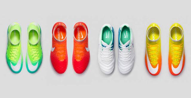 Nike lanza un pack de botas de fútbol sólo para mujeres