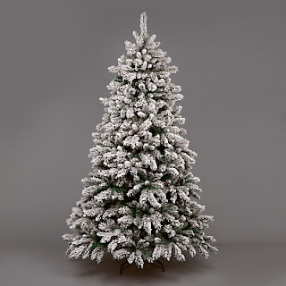7ft Snow Capped Christmas Tree by John Lewis
