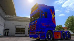 Danish King Skin for Scania RJL