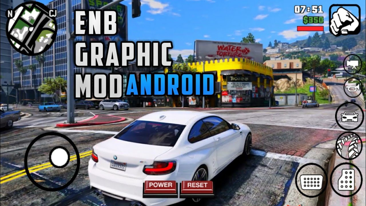 Gta Sa Lite HD Graphic Modpack For Android | 1GB Ram