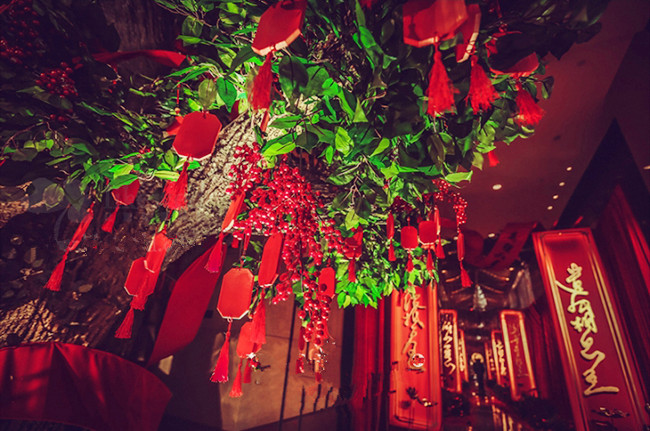 Chinese Blessing Tree