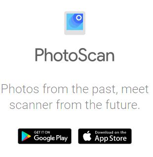 photo scan by google