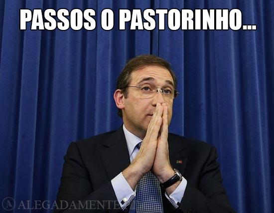 Pedro Passos Coelho – Passos o Pastorinho…