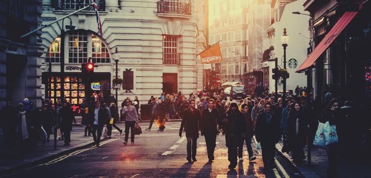 ludzie na ulicy, angielska ulica