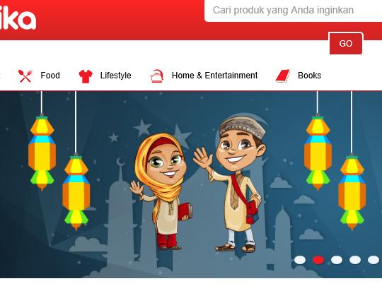 CIPIKA, Portal belanja dari Indosat