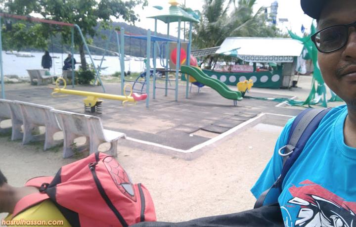 Taman permainan mini Pulau Perhentian Kecil