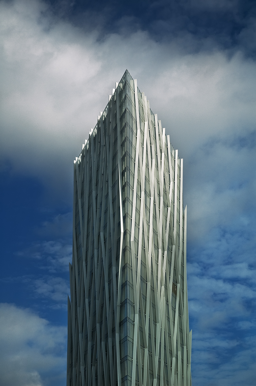 Diagonal 00 or ZERO ZERO, The Telefonica Head Office, Barcelona, Spain