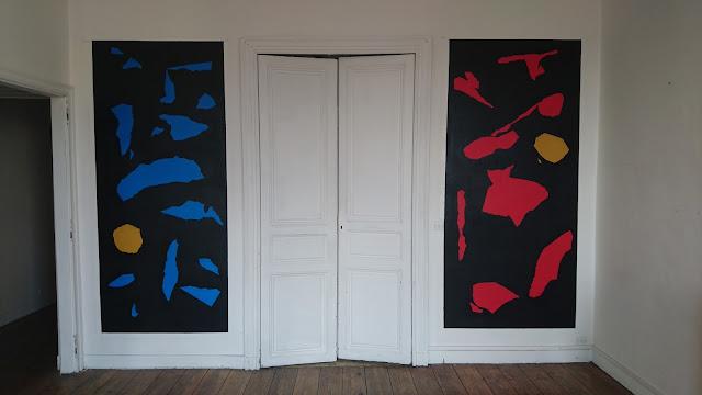 artiste peintre jean-baptiste besançon peinture interieur bordeaux appartement