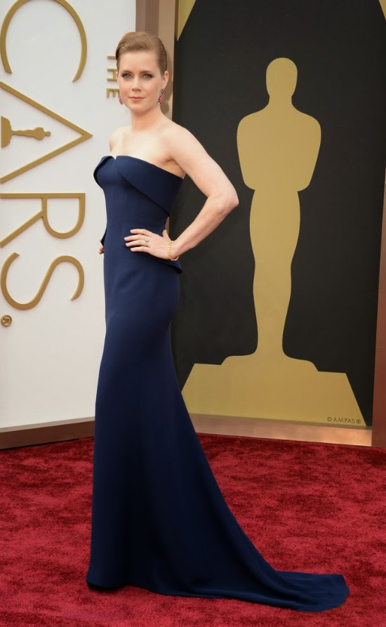 Amy Adams in Gucci Premiere gown at Oscar 2014