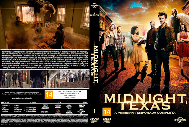 Capa DVD Midnight, Texas - Primeira Temporada [Custom]