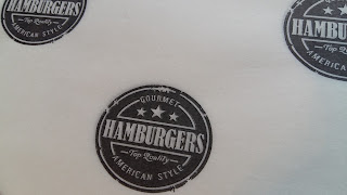 papel hamburguesa americana