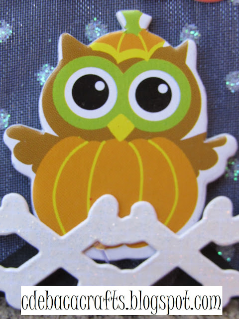 Cute halloween kid card by CdeBaca Crafts.