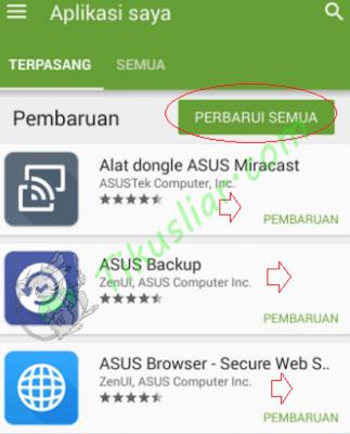 Cara Memperbarui aplikasi android