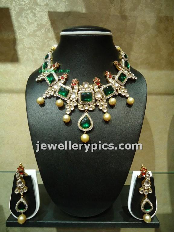 kundan sets at sitara jewellers hyderabad latest