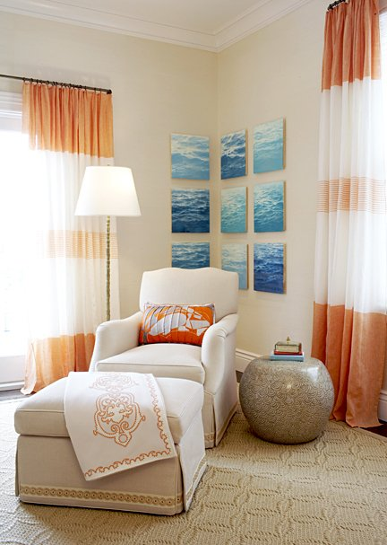 orange and white with beige bedroom interior design decorating