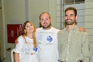 Η Ραφαέλα Πασβούρη, ο Βαγγέλης Αυγουλάς και ο Γιάννης Γαβράς στο 3ο Music Dream Festival