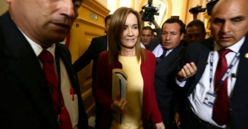 Ministra de Educación explica en el Congreso medidas ante huelga docente