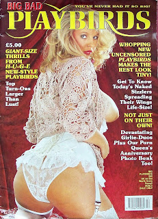 Front cover of the vintage British adult magazine Big Bad Playbirds from 1995