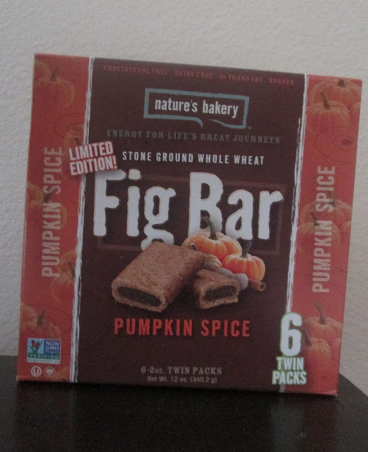 Nature's Bakery Fig Bar Review and Giveaway