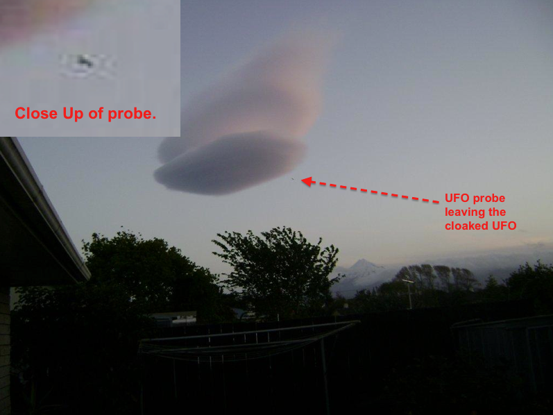 UFO SIGHTINGS DAILY: UFO Cloaked As Cloud Caught Over New ...