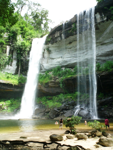 King Pong Waterfall in Thailand