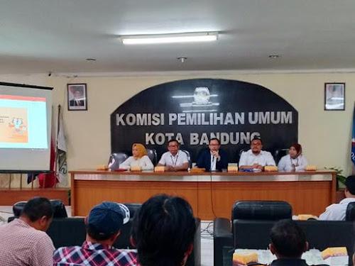 Rapat Pleno KPU Kota Bandung 2017