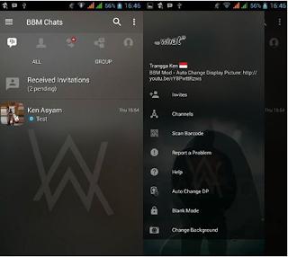 BBM Alan Walker Background v3.3.1.24 Full Kode