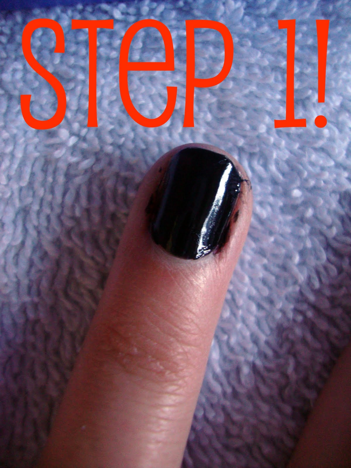 Blushing Barbies!: DIY: Easy & Cute Nails For Halloween!