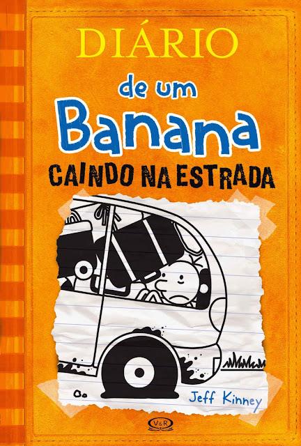 Diário de um Banana Caindo na estrada Jeff Kinney