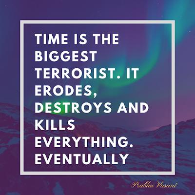 time as a terrorist