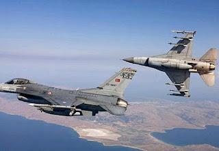 τουρκικές παραβιάσεις πάνω από το Αιγαίο