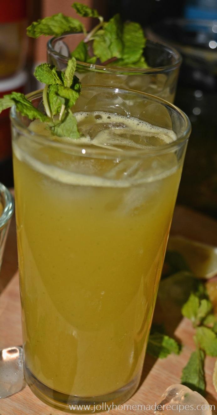 How to make Pineapple Agua Fresca Recipe