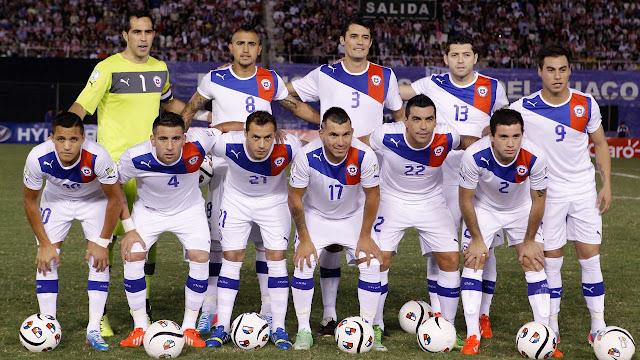 Formación de Chile ante Paraguay, Clasificatorias Brasil 2014, 7 de junio de 2013