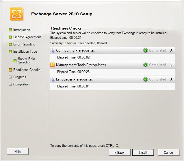 IT Admin Tips: Install Exchange Server 2010 Management Tools