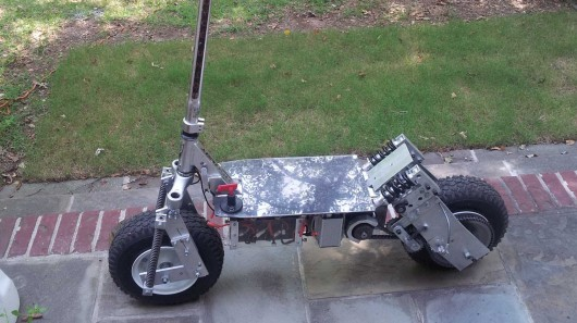 Crazy Engineering Kick Scooter Converted Into Awesome All